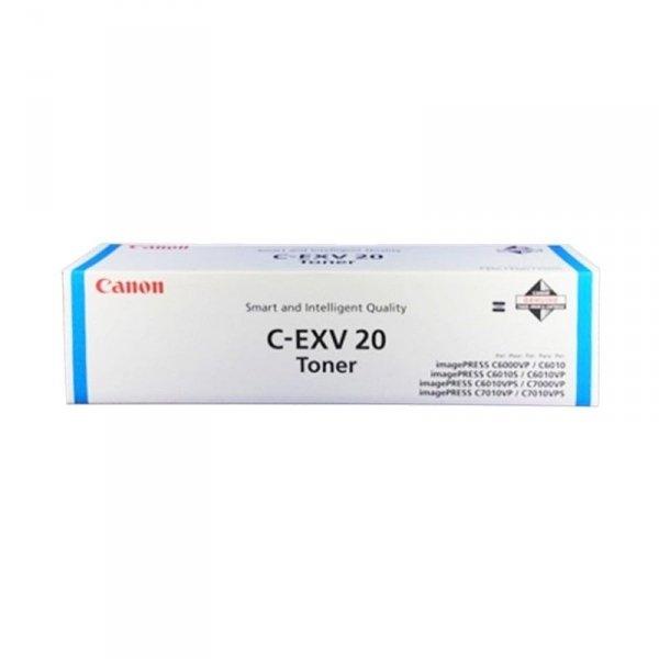 Canon oryginalny toner CEXV20. cyan. 35000s. 0437B002. Canon iP-C7000VP 0437B002