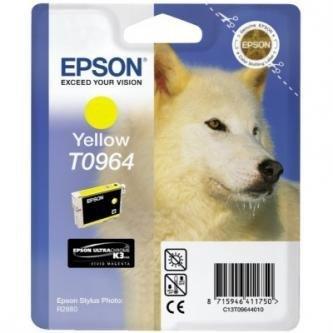 Epson oryginalny wkład atramentowy / tusz C13T09644010. yellow. 13ml. Epson Stylus Photo R2880 C13T09644010