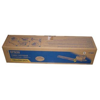 Epson oryginalny toner C13S050474. yellow. 14000s. Epson AcuLaser C9200 C13S050474