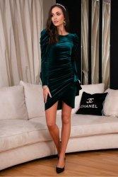 Sukienka 0270 Zielona Roco Fashion