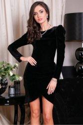Sukienka 0270 Czarna Roco Fashion
