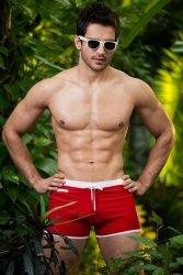 Kostium kąpielowy Alpha Male Verso red