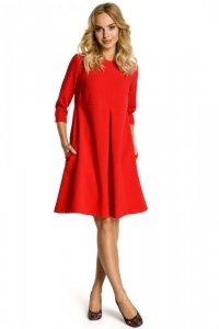 M338 sukienka czerwona