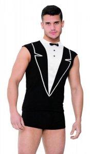 Shirt and Shorts 4604 - black kelner