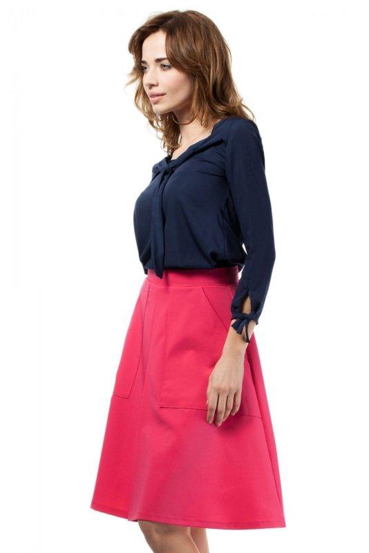 MOE184 spódnica różowa