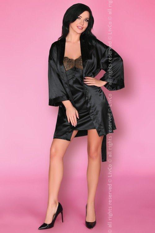 Emiliana LC 90397 Black Beauty Onyx Collection koszulka i majtki