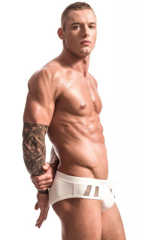 Kostium kąpielowy Alpha Male Aero ivory PUSH-UP