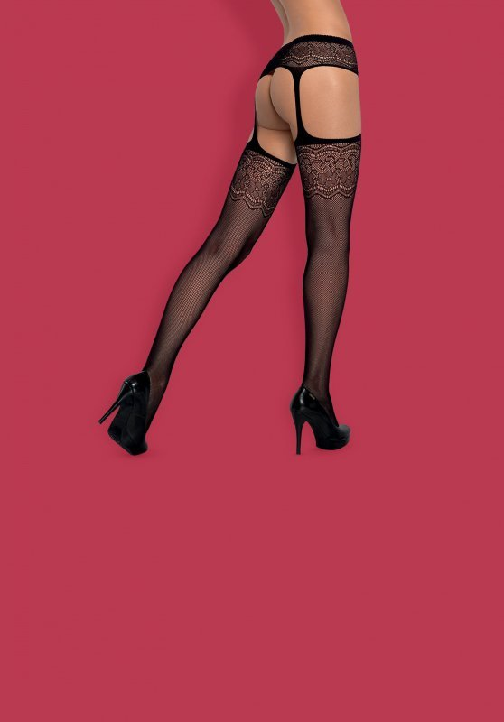 Garter stockings S207  S/M/L