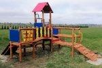 Plac zabaw drewniany nr 2
