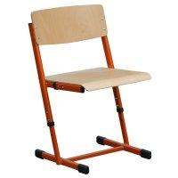 Krzesło szkolne Reks trzyrozmiarowe