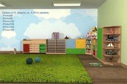 Zestaw mebli przedszkolnych, Primo 5