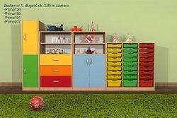 Zestaw mebli przedszkolnych, Primo 1