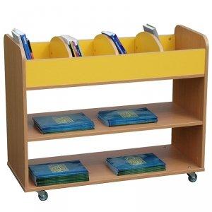 Dwustronna biblioteczka na kółkach Primo 224