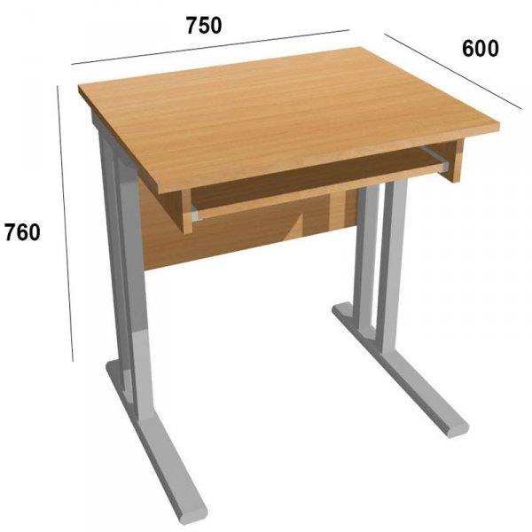 Biurko komputerowe 1-osobowe