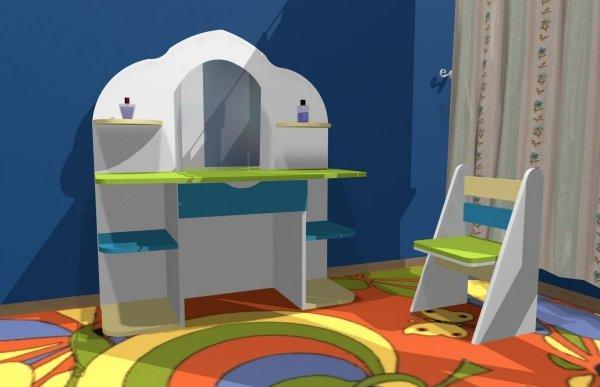 toaletka dla dziewczynki,toaletka,toaletka dziecięca,toaletka dla dziecka,toaletki dziecięce