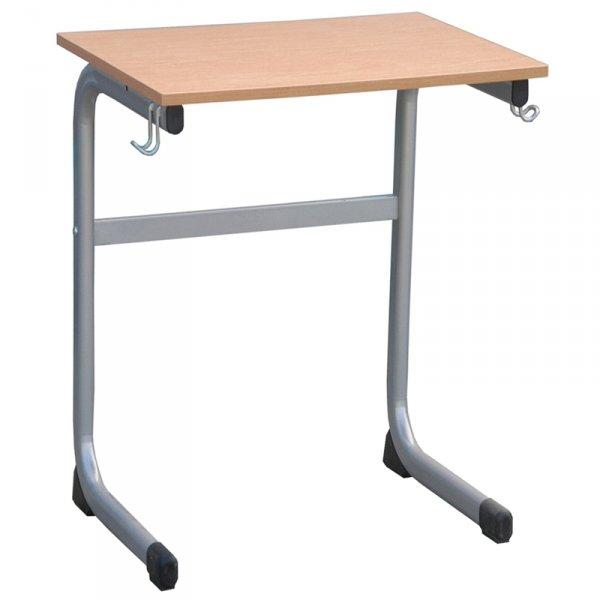 ławka szkolna romek, ławka szkolna pojedyncza, ławka szkolna jednoosobowa, stolik szkolny jednoosobowy