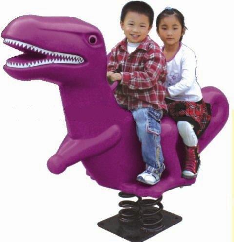bujak dinozaur, bujak do przedszkola, bujak przedszkolny, sprężynowiec dinozaur
