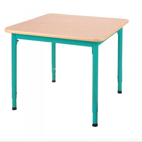 stolik przedszkolny bambino,bambino kwadratowy,stolik bambino,stół bambino przedszkolny