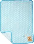 SMALL FOOT Bear Baby Blanket - mata dla niemowląt