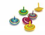 SMALL FOOT kolorowy Bączek zabawka dla dzieci (zestaw 6szt.)