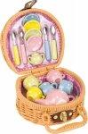 SMALL FOOT Mini Kosz Piknikowy Z Herbatką - zabawka dla dziecka