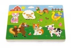 Viga 51273 Puzzle z dźwiękiem - farma