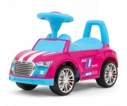 Milly Mally Pojazd Racer Pink-Blue