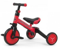 Rowerek 3w1 Optimus Red