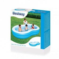 Bestway 54117 BASEN FAMILIJNY BIG LAGUNE 2.62mx1.57mx46cm (51081, Bestway)