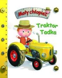 Traktor Tadka. Mały chłopiec