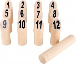 SMALL FOOT Vikings Game Kubb Numbers - gra kubb (liczby)