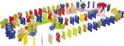 SMALL FOOT gra Domino drewniane  (figurki zwierzęta)