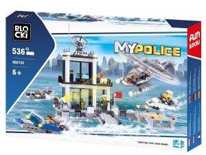 Klocki Blocki MyPolice Komisariat Wodny 536 el.