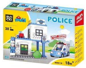 Klocki Blocki Mubi Police 38el.