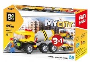 Klocki Blocki MyCity 3w1 - 69 el.