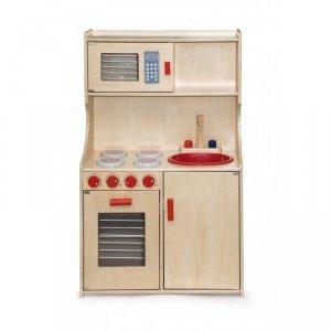 Viga Toys Duża Kuchnia Drewniana Modern