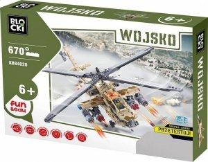 Klocki Blocki Wojsko Helikopter 670 el.