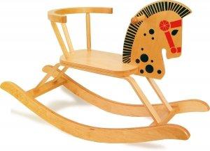 SMALL FOOT Rocking Horse - drewniany konik na biegunach