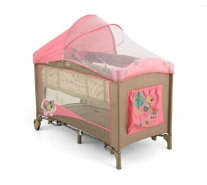 Łóżeczko Mirage Deluxe Pink Cow