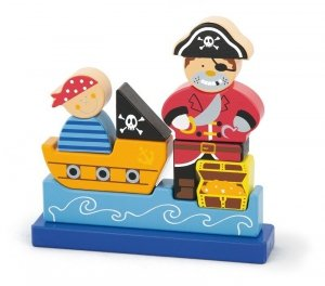 Viga 50077 Klocki magnetyczne - pirat