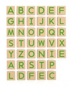 Viga 50588 Zestaw magnetycznych liter - 40 elementów