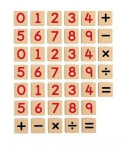 Viga 50591 Zestaw magnetycznych cyferek - 40 elementów