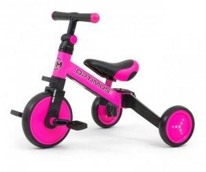 Rowerek 3w1 Optimus Pink