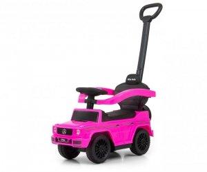 Pojazd z rączką MERCEDES G350d Pink