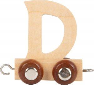Dekoracja SMALL FOOT wagon do lokomotywy z literą D