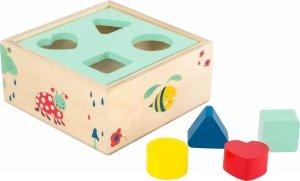 SMALL FOOT Shape-Fitting Cube Move it! - sorter kształtów (kostka)