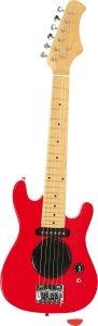 SMALL FOOT E-Guitar red - Elektryczna gitara (czerwona)