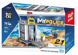 Klocki Blocki MyPolice 2 W 1 78 el.