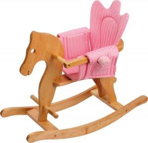 SMALL FOOT Rocking Horse with Saddle - konik na biegunach z siodełkiem
