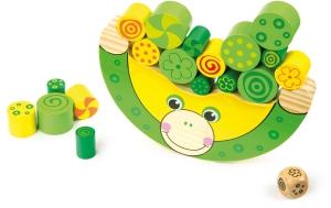 SMALL FOOT gra zręcznościowa balansująca - żabka